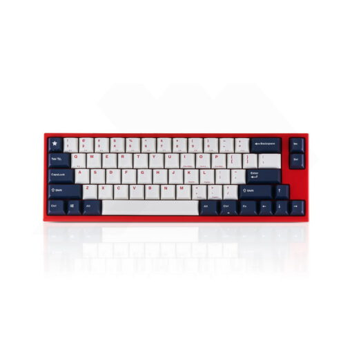 Leopold FC660M PD White Blue Star Keyboard 1