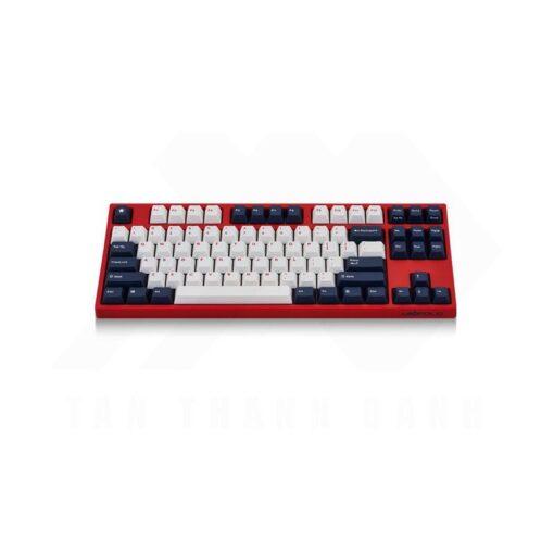 Leopold FC750R PD White Blue Star Keyboard 2