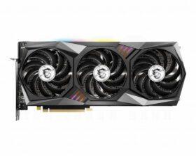 MSI Geforce RTX 3060 Ti GAMING X TRIO Graphics Card 2
