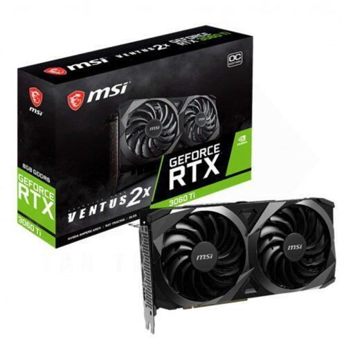 MSI Geforce RTX 3060 Ti VENTUS 2X OC Graphics Card 1