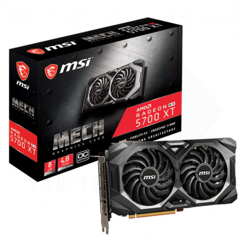 MSI Radeon RX 5700 XT MECH OC 8GB Graphics Card 1