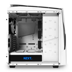 NZXT NOCTIS 450 Case – Glossy White Blue 7