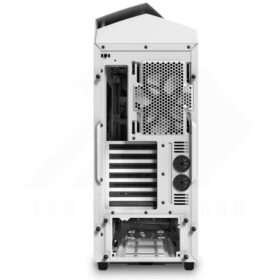 NZXT NOCTIS 450 Case – Glossy White Blue 8