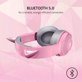 Razer Kraken BT Kitty Edition Headset Quartz Pink 3