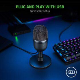 Razer Seiren Mini Condenser Microphone 6