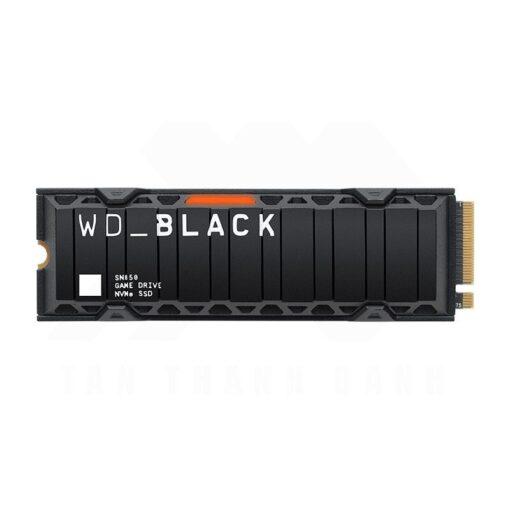 Western Digital Black SN850 SSD with Heatsink 1