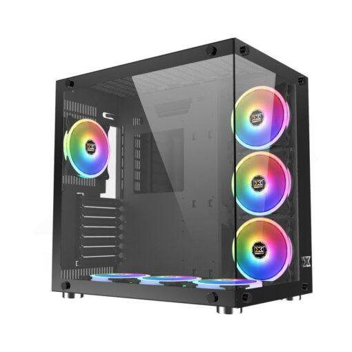 XIGMATEK Aquarius Plus Case – Black 1