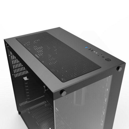 XIGMATEK Aquarius Plus Case – Black 6