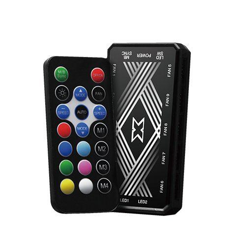 XIGMATEK Galaxy III Essential Fan – 3 Fans Controller Included 4