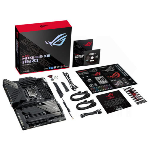 ASUS ROG MAXIMUS XIII HERO Mainboard – Z590 Chipset 6
