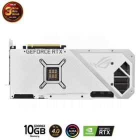 ASUS ROG Strix Geforce RTX 3080 OC WHITE Edition 10G Gaming Graphics Card 5