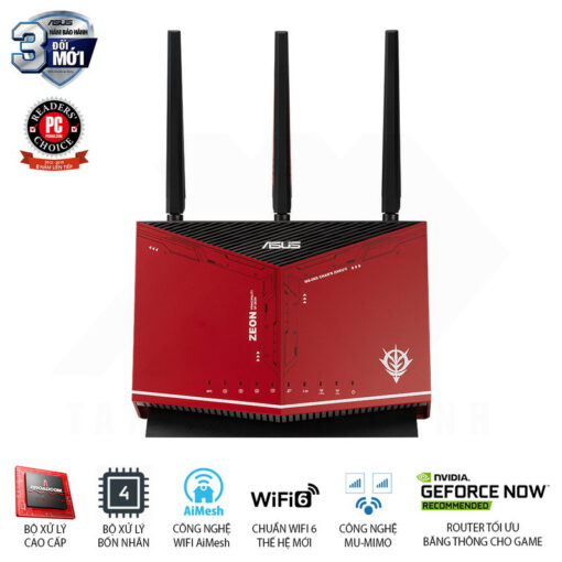ASUS RT AX86U GUNDAM ZAKU II EDITION Gaming Router 1