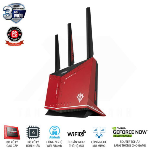 ASUS RT AX86U GUNDAM ZAKU II EDITION Gaming Router 2