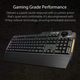 ASUS TUF Gaming K1 RGB Keyboard 2
