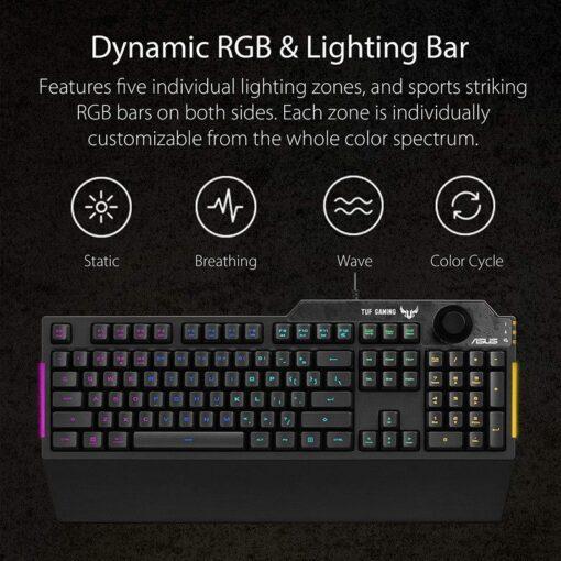 ASUS TUF Gaming K1 RGB Keyboard 3