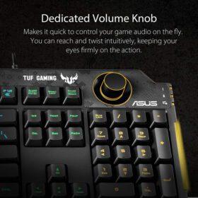 ASUS TUF Gaming K1 RGB Keyboard 4