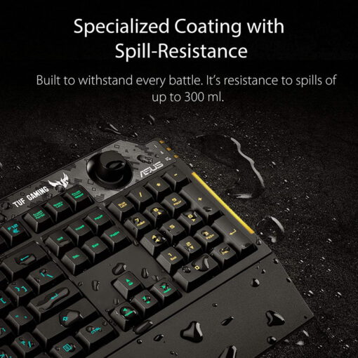 ASUS TUF Gaming K1 RGB Keyboard 5