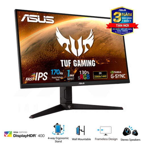 ASUS TUF Gaming VG27AQGL1A GUNDAM ZAKU II EDITION Monitor 2