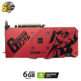 ASUS TUF Gaming X3 Geforce GTX 1660 SUPER GUNDAM ZAKU II Edition Advanced 6G Graphics Card 4