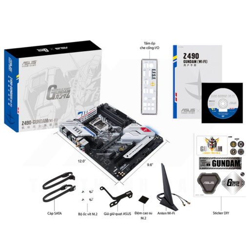 ASUS Z490 GUNDAM WI FI Gaming Mainboard 7
