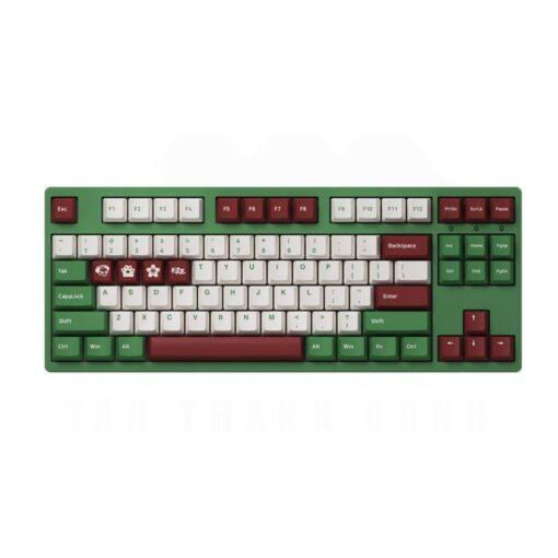 Akko 3087 v2 DS Matcha Red Bean Keyboard 1