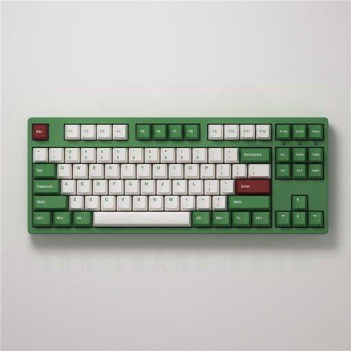 Akko 3087 v2 DS Matcha Red Bean Keyboard 2