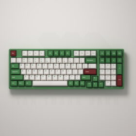 Akko 3098 v2 DS Matcha Red Bean Keyboard 2