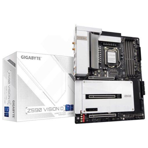 GIGABYTE Z590 VISION D Mainboard 1