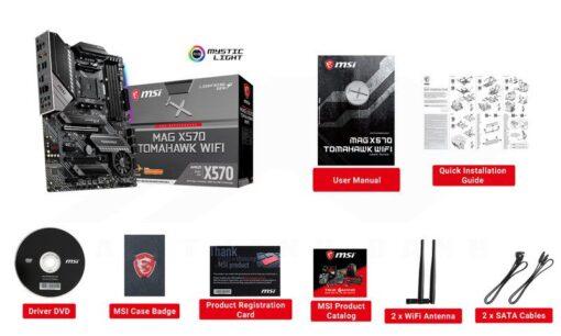 MSI MEG X570 TOMAHAWK WIFI Mainboard 4