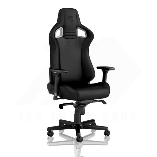 Noblechairs EPIC Gaming Chair – Black Edition Vinyl PU hybrid leather 1