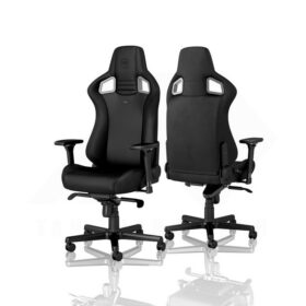 Noblechairs EPIC Gaming Chair – Black Edition Vinyl PU hybrid leather 2