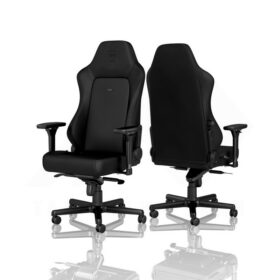 Noblechairs HERO Gaming Chair – Black Edition Vinyl PU hybrid leather 2