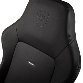 Noblechairs HERO Gaming Chair – Black Edition Vinyl PU hybrid leather 5