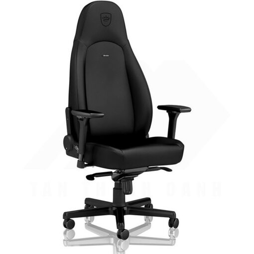 Noblechairs ICON Gaming Chair – Black Edition Vinyl PU hybrid leather 1