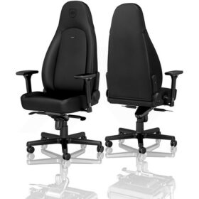 Noblechairs ICON Gaming Chair – Black Edition Vinyl PU hybrid leather 2