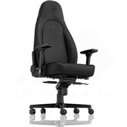 Noblechairs ICON Gaming Chair – Black Edition Vinyl PU hybrid leather 4