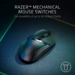 Razer Basilisk X HyperSpeed Wireless Gaming Mouse 4