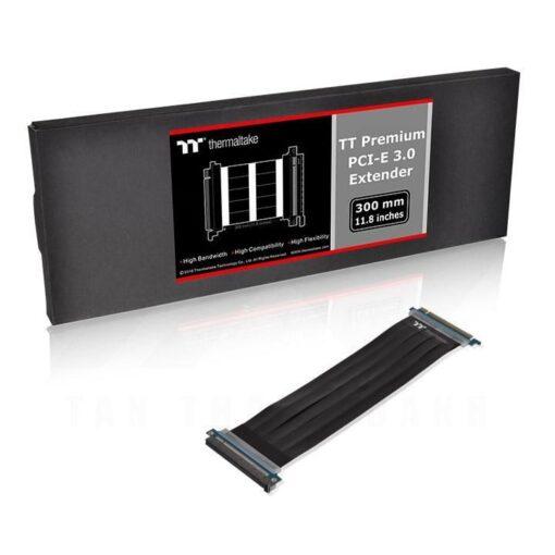 Thermaltake TT Premium PCI E 3.0 Extender 300mm Riser Cable 1