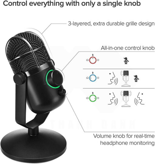 Thronmax MDrill Dome M3 Microphone 4