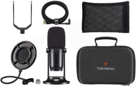 Thronmax MDrill One M2 Studio Kit – Jet Black 3