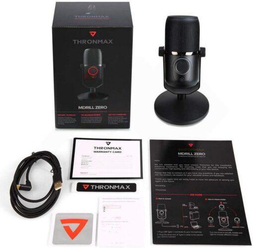 Thronmax MDrill Zero M4 Microphone – Jet Black 4