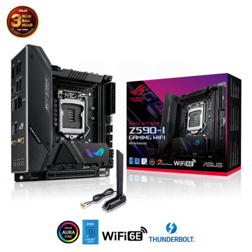 ASUS ROG STRIX Z590 I GAMING WIFI Mainboard 1