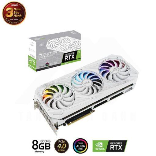 ASUS ROG Strix Geforce RTX 3070 OC White Edition 1