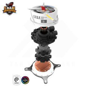 ASUS ROG Strix LC 360 RGB GUNDAM EDITION Liquid Cooler 6