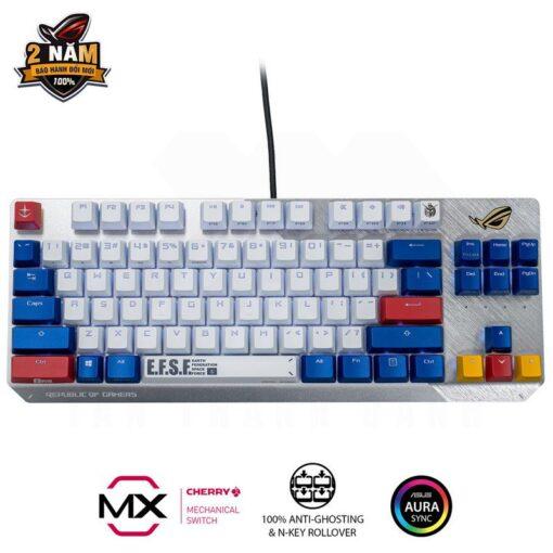 ASUS ROG Strix Scope TKL GUNDAM EDITION Gaming Keyboard 1