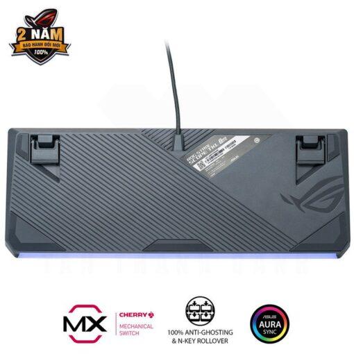 ASUS ROG Strix Scope TKL GUNDAM EDITION Gaming Keyboard 2