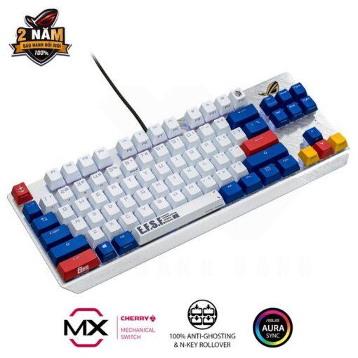 ASUS ROG Strix Scope TKL GUNDAM EDITION Gaming Keyboard 3