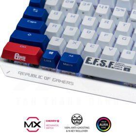 ASUS ROG Strix Scope TKL GUNDAM EDITION Gaming Keyboard 4