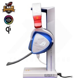 ASUS ROG Throne Qi GUNDAM EDITION Gaming Headset Stand 3