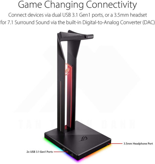 ASUS ROG Throne Qi Gaming Headset Stand 2